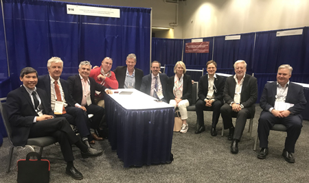 International Borad of Perioperative Medicine was officially formed on 15 October 2018 at the ASA in San Francisco.